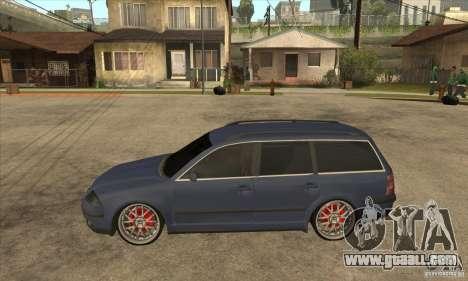 Volkswagen Passat B5.5 2.5TDI 4MOTION for GTA San Andreas