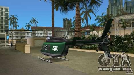 FBI Maverick for GTA Vice City side view