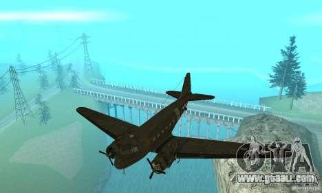 C-47 Skytrain for GTA San Andreas