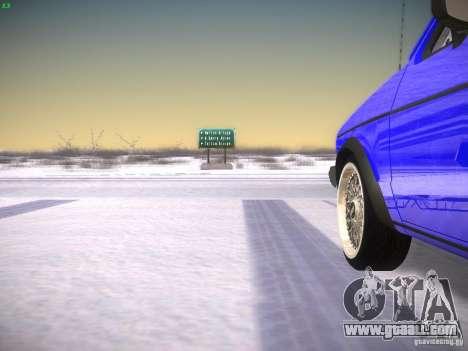 Volkswagen Rabbit GTI for GTA San Andreas back view