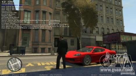 Simple Trainer Version 6.3 for 1.0.1.0-1.0.0.4 for GTA 4 ninth screenshot