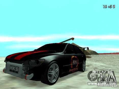 Toyota Altezza NKS Drift for GTA San Andreas