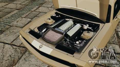 Dodge Challenger Concept 2006 for GTA 4 inner view