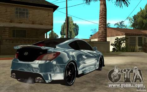 Hyundai Genesis Tuning for GTA San Andreas right view