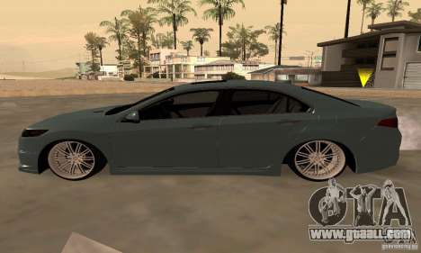 Acura TSX 2010 for GTA San Andreas back view