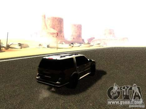 Ford Expedition 2008 for GTA San Andreas left view