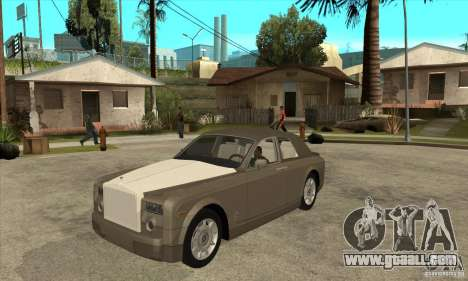 Rolls Royce Coupe 2009 for GTA San Andreas