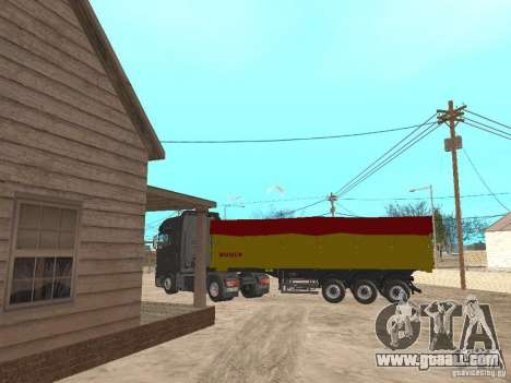 Trailer TIPPERS for GTA San Andreas back left view