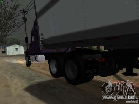 Freightliner Cascadia for GTA San Andreas back view