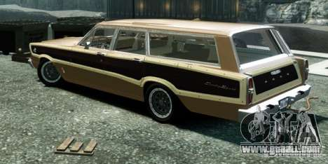 Ford Country Squire for GTA 4 left view