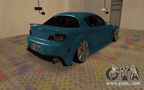 Mazda RX8 VIP for GTA San Andreas right view