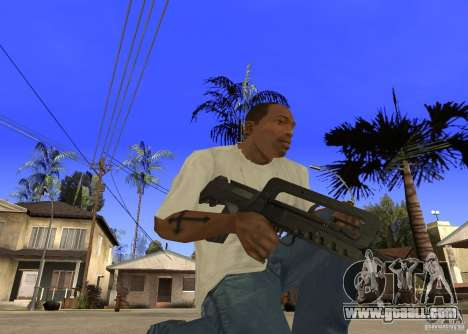 Famas-F1 for GTA San Andreas