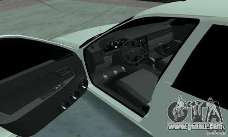 Lada Priora Low for GTA San Andreas back view