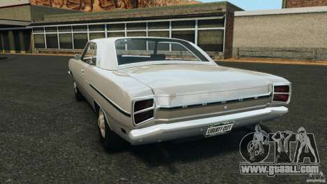 Dodge Dart 1969 [Final] for GTA 4 back left view
