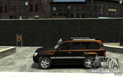 LEXUS LX 470 for GTA 4 left view
