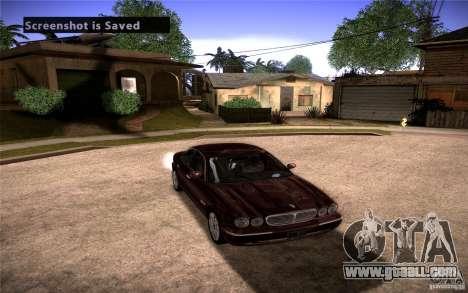 Jaguar Xj8 for GTA San Andreas back view
