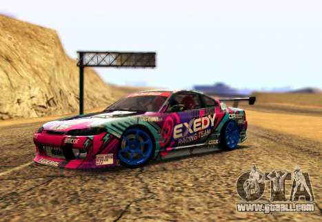 Nissan Silvia S15 EXEDY RACING TEAM for GTA San Andreas