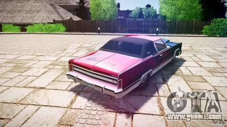 Lincoln Continental Town Coupe v1.0 1979 [EPM] for GTA 4 upper view