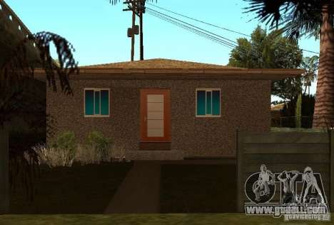 New textures of houses on Grove Street for GTA San Andreas third screenshot
