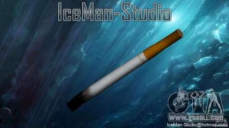 Realistic cigarette for GTA San Andreas