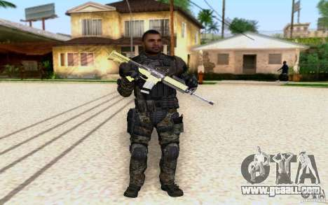 Salazar from CoD: BO2 for GTA San Andreas