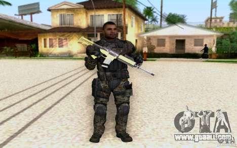 Salazar from CoD: BO2 for GTA San Andreas
