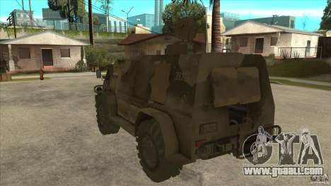 GAZ 39371 Vodnik for GTA San Andreas back left view