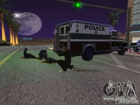 Hurt by a shot for GTA San Andreas third screenshot