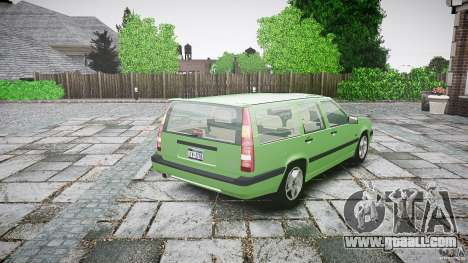 Volvo 850 Turbo 1996 for GTA 4 upper view