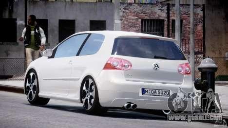 Volkswagen Golf GTI 2006 v1.0 for GTA 4 back left view