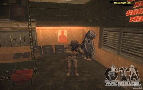 Recharging weapons for GTA San Andreas