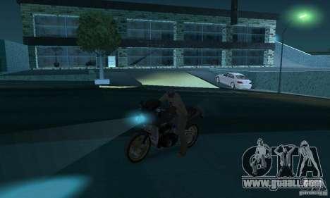 Neon color lamps for GTA San Andreas forth screenshot