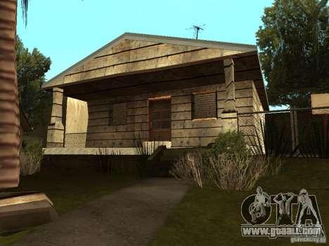 Retekstur houses on Groove Street for GTA San Andreas fifth screenshot