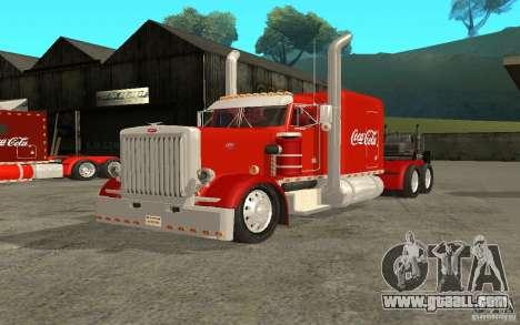 Peterbilt 379 Custom Coca Cola for GTA San Andreas