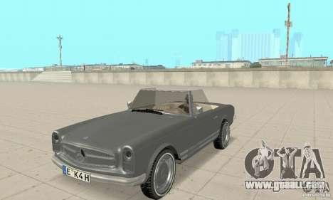 Mercedes-Benz 280SL (Matt) for GTA San Andreas
