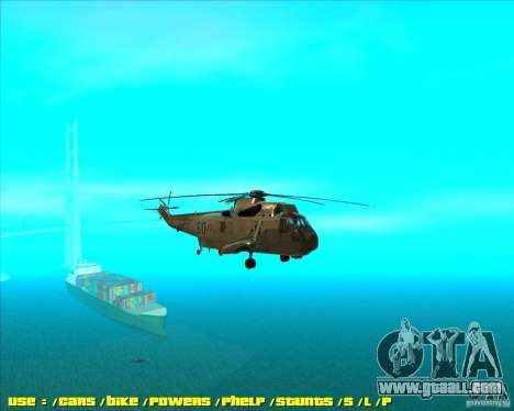 SH-3 Seaking for GTA San Andreas