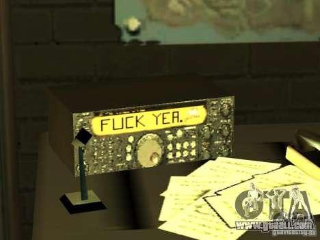 Bar FUCK YES for GTA San Andreas seventh screenshot
