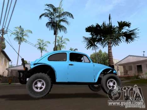 Volkswagen Buggy 1963 for GTA San Andreas back left view