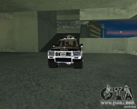 Toyota Surf v2.1 for GTA San Andreas interior