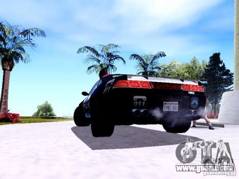 NFS Undercover Cop Car MUS for GTA San Andreas right view