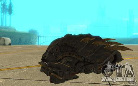 Starship Predator from the game Aliens vs Predat for GTA San Andreas right view