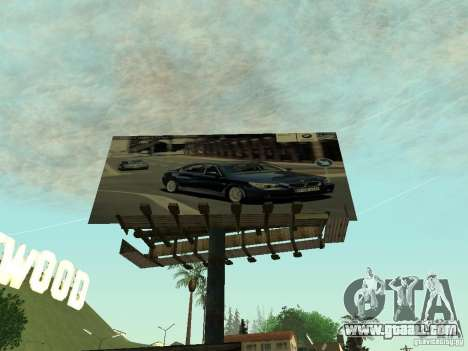 The new advertisement to the mods for GTA San Andreas forth screenshot