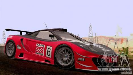 McLaren MP4-12C Speedhunters Edition for GTA San Andreas side view