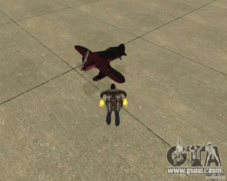 Pak air transport for GTA San Andreas