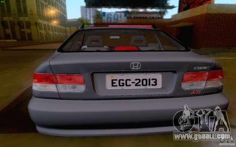 Honda Civic 1999 for GTA San Andreas