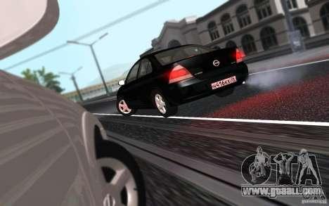 Nissan Almera Classic for GTA San Andreas back view