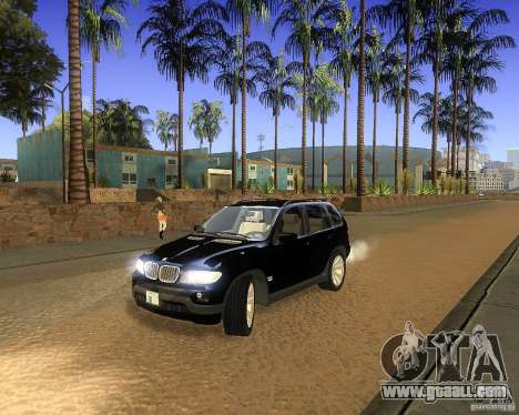 BMW X5 4.8 IS for GTA San Andreas