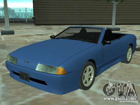 Elegy Of Convertible Tops for GTA San Andreas