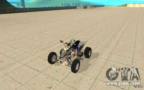 Yamaha YFZ 450 SuperCross Skin 3 for GTA San Andreas