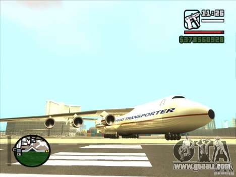 Antonov an-225 for GTA San Andreas